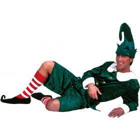 Amerikaanse Kerst Elf Man Kostuum
