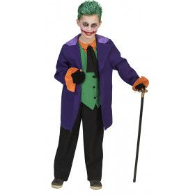 The Joker Uit Batman Jongen Kostuum