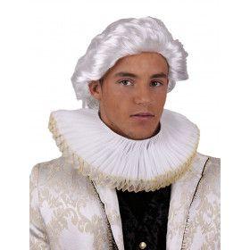 Barokke Kraag Spaanse Hof Wit