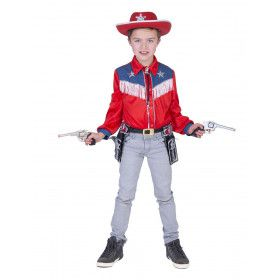 Cowboy Shirt Twee Sterren Kind