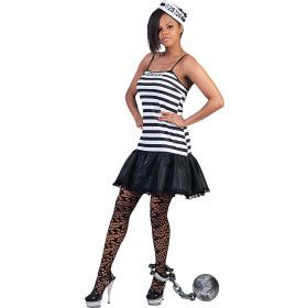 Zware Meid Gevangene Vrouw Kostuum