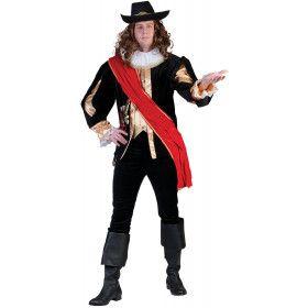 Nachtwacht Kapitein Frans Banning Man Kostuum