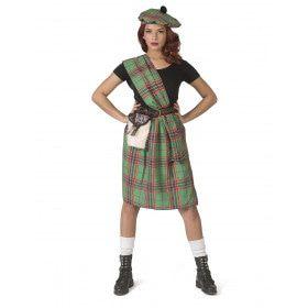 Wereldkampioene Highlander Games Schotland Vrouw Kostuum