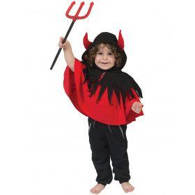 Duiveltje In De Dop Cape Kind Kostuum