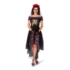 Day Of The Dead Nee Ik Wil Niet Met Je Trouwen Bruid Vrouw Kostuum