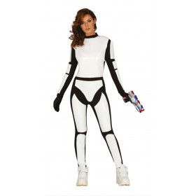 Science Fiction Ruimte Soldaat Vrouw Kostuum