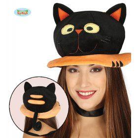 Hoed Dikke Zwarte Kat