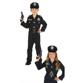 Pientere Politie Agent Kind Kostuum