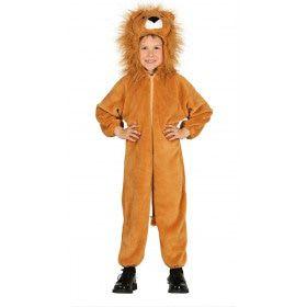 Leeuw Met Volle Manen Kind Kostuum