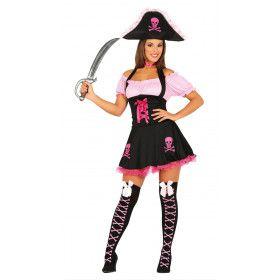 Pikante Pirate Windkracht Negen Vrouw Kostuum