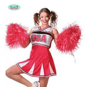 Pompon Cheerleader Rood