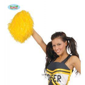 Pompon Cheerleader Geel