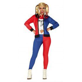Dangerous Girl Rocker Dame Vrouw Kostuum