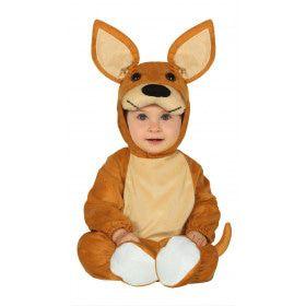 Hoppende Bruine Kangoeroe Australie Kind Kostuum