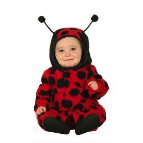 Schattig Lieveheersbeestje Zwarte Stippen Kind Kostuum
