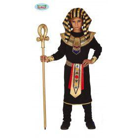 Gouden Egyptische Farao Horus Jongen Kostuum