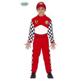 Formule 1 Coureur Niki Jongen Kostuum