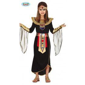 Gouden Egyptische Farao Hora Meisje Kostuum
