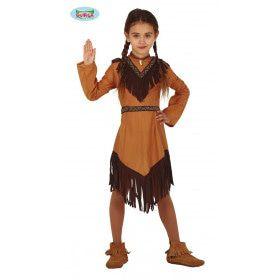 Lakota Indiaan Lianne Meisje Kostuum