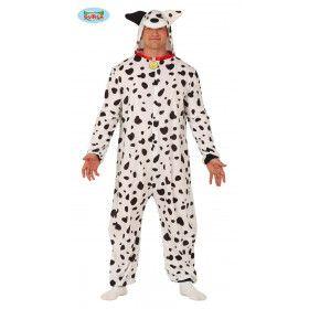 Hond Met Heel Veel Vlekken Dalmatier Kostuum