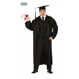 Diploma Uitreiking Bul Student Man Kostuum