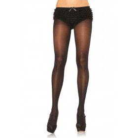 Semi-Transparante Panty Zwart