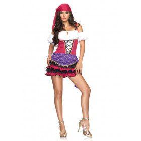 Sexy Zigeunerin Waarzegster Kostuum Vrouw