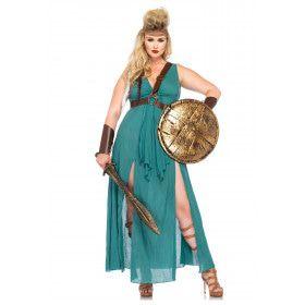 Romeinse Sexy Dames Strijder Plus Size Vrouw Kostuum