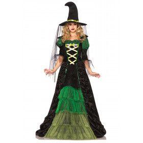 Lange Heksenjurk Vrouw