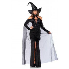 Sexy Stoute Tovenares Vrouw Kostuum