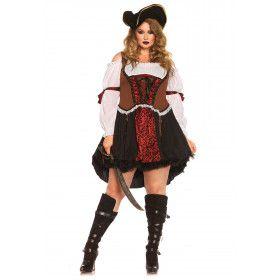 Meedogenloze Piraten Vrouw Jurk