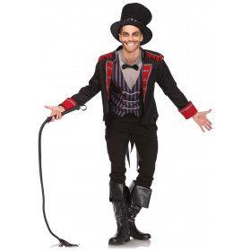 Circusdirecteur Uit Een Enge Droom Man Kostuum
