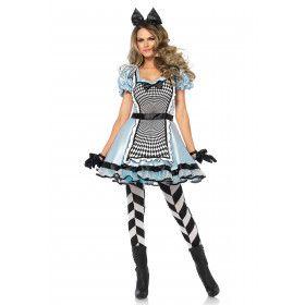 Hypnotiserende Alice In Wonderland Vrouw Kostuum