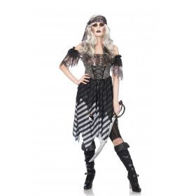 Pirate Uit De Dood Opgestaan Vrouw Kostuum