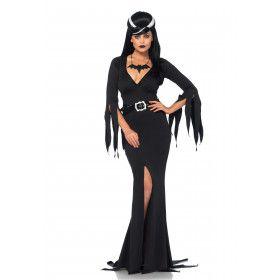 Donkere Vleermuis Schoonheid Vrouw Kostuum