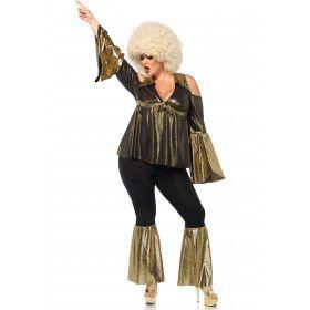 Disco Diva Maatje Meer Vrouw Kostuum
