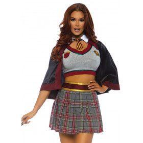 Les Verstorend Schooluniform Vrouw Kostuum