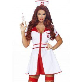 Snel Herstel Ziekenhuis Zuster Vrouw Kostuum