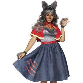 Charmante Teen Wolf Halloween Weerwolf Vrouw Kostuum