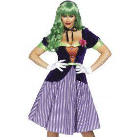 Batman Strip The Joker Kreng Vrouw Kostuum