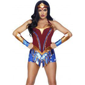 Super Sexy Held Wonder Woman Vrouw Kostuum
