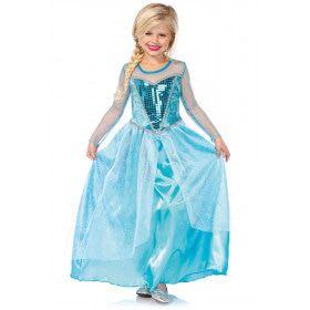 Sneeuw Koningin Sprookjes Meisje Kostuum