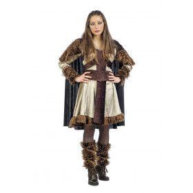 Luxe Noorse Viking Marit Vrouw Kostuum