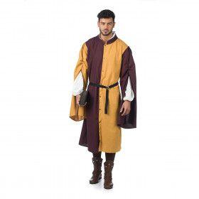 Middeleeuws Secretaris Van De Koning Man Kostuum