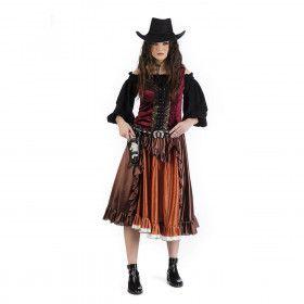 Clairssa Colt Cowgirl Californie Vrouw Kostuum