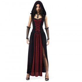 Gotisch Bloeddorstige Vampier Vrouw Kostuum