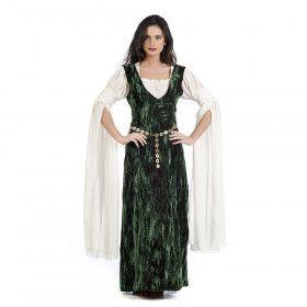 Johanna Van Beieren Begeerlijke Prinses Middeleeuwen Vrouw Kostuum