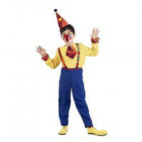 Simon Schaterlach Vrolijk Circus Clown Jongen Kostuum