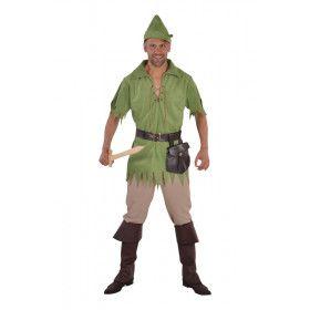 Robin Hood Weldoener Van Sherwood Man Kostuum