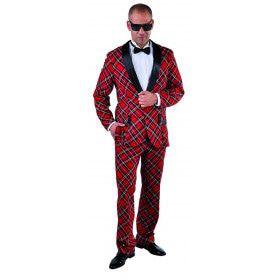 Schotse Hooglander Gala Smoking Man Kostuum